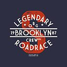 Vintage Legendary Brooklyn Road Race by Chocodole