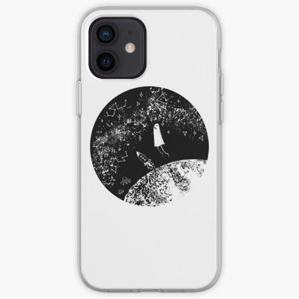 Punpun en el espacio Funda blanda para iPhone