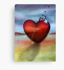counting my blessings Canvas Print