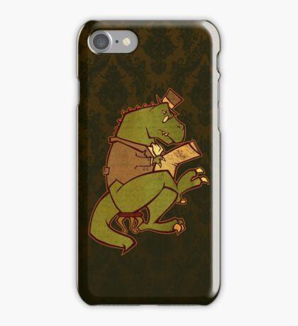 Gentleman T-Rex iPhone Case/Skin