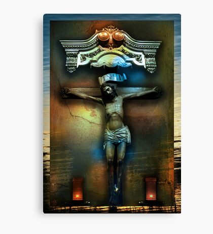 Jesus Was A Sailor Canvas Print