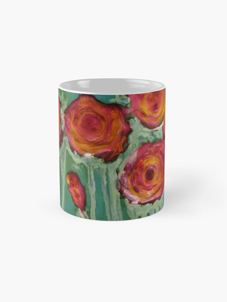 Alternate view of Wild Roses Mug