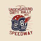 Underground Dirty Rally Helmet by Chocodole