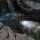 Waterfall (detail) by Aaron Campbell