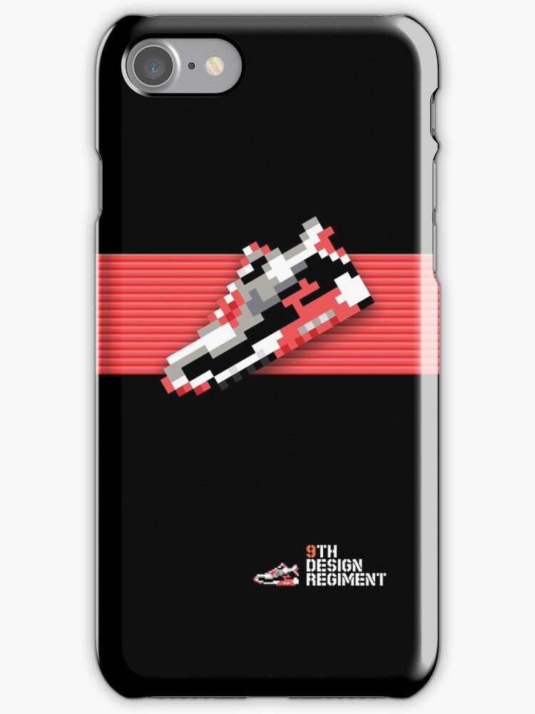 8-bit running shoe for iPods, iPhone 4S and older models by 9thDesignRgmt