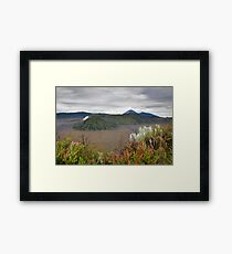 Sunrise of Mount Bromo Framed Print