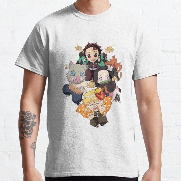 Tanjiro Squad - Tueur de démons: Kimetsu no Yaiba T-shirt classique