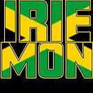 Irie Mon Jamaican Rasta Jamaika Karibik Keine Sorge von funnytshirtemp