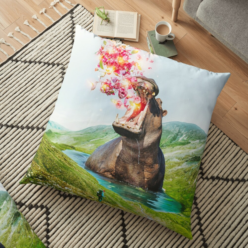 From Within Floor Pillow