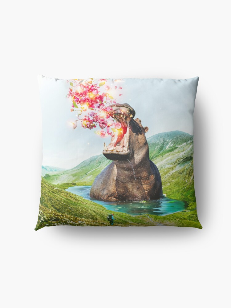 Alternate view of From Within Floor Pillow