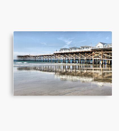 Crystal Pier - San Diego Canvas Print