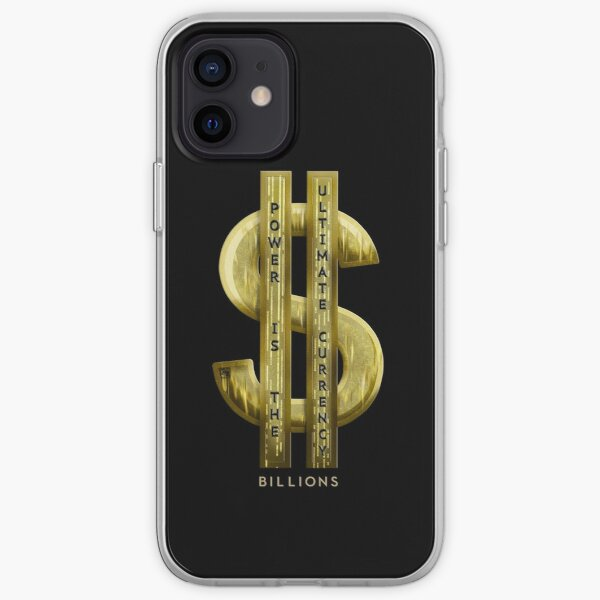 Power, money and gold iPhone Soft Case