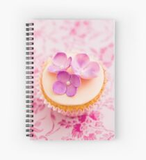 Decorated cupcake Spiral Notebook