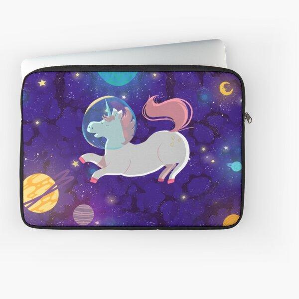 The unicorn astronaut Housse d'ordinateur