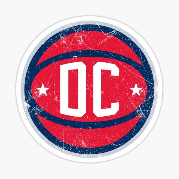 DC Retro Ball - White Sticker
