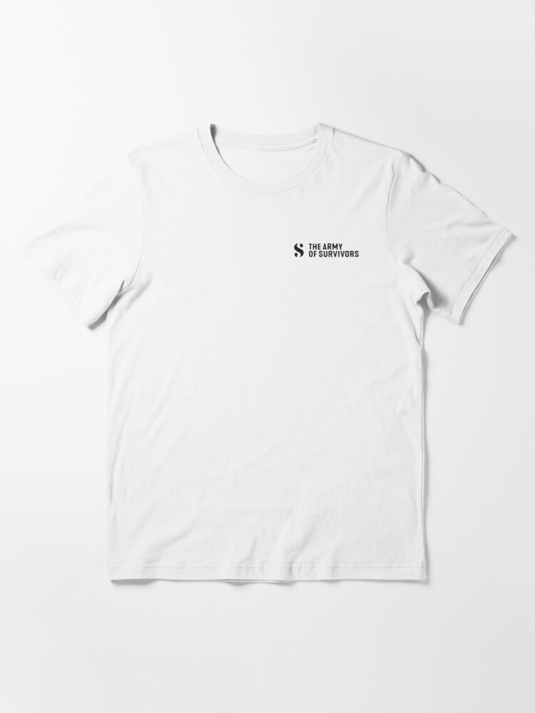 Alternate view of The Army of Survivors: Brand Essential T-Shirt