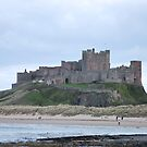 Bamburgh Castle  by Cathy Jones