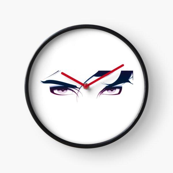 Cyberpunk Eyes Clock