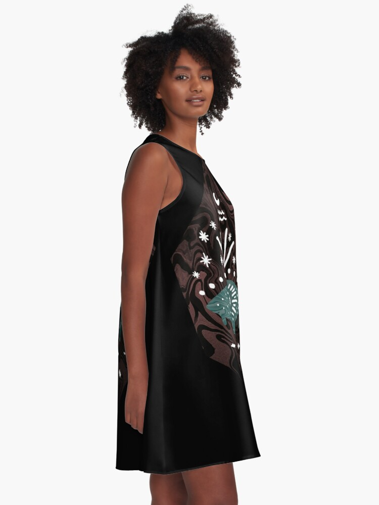 Alternate view of Oversight A-Line Dress