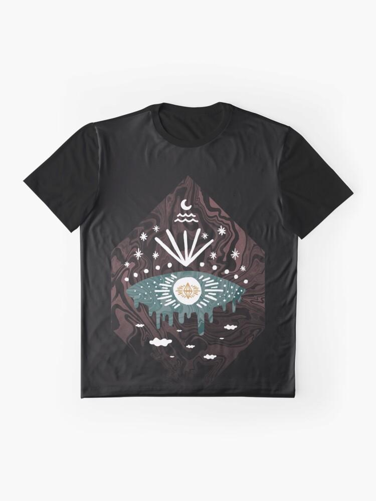 Alternate view of Oversight Graphic T-Shirt