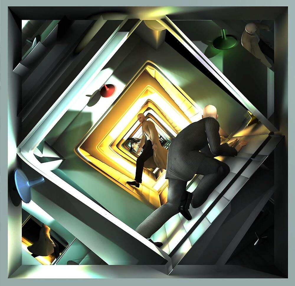 Ecce Homo 97 - Inception by Polygonist