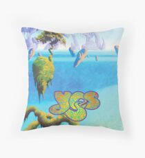 Yes, sci fi landscape Throw Pillow