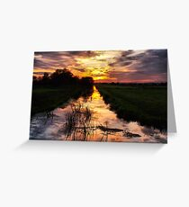Fenland Glory Greeting Card