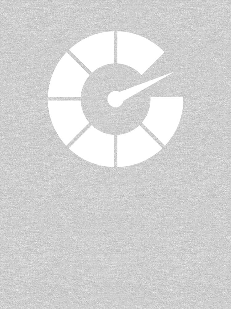All White Autoblog Tach Logo by Autoblog
