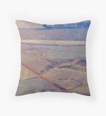 Patchwork over Gauteng! Throw Pillow