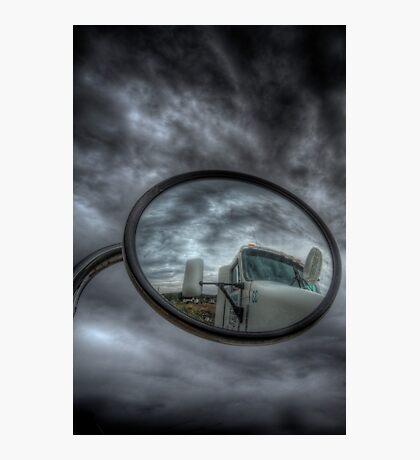 Cloud Trucker Photographic Print