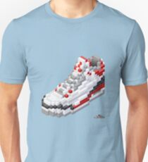 3D 8-bit basketball shoe 3 T-Shirt