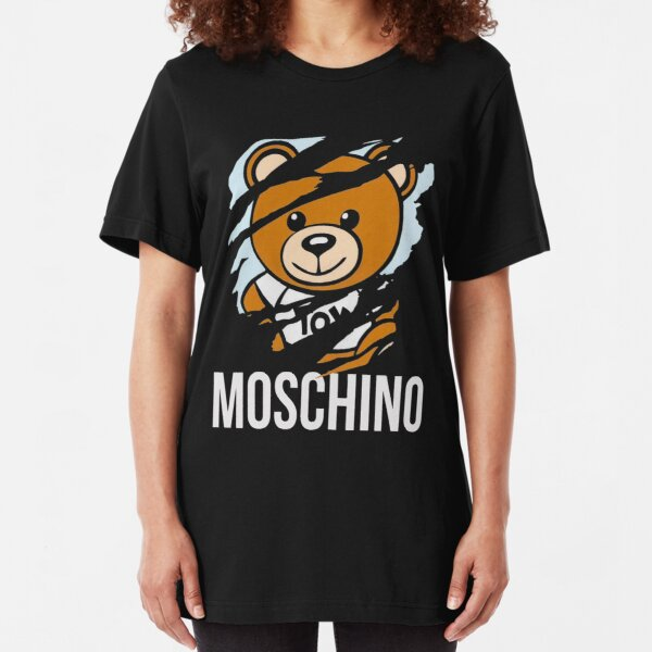 cute a bear Slim Fit T-Shirt