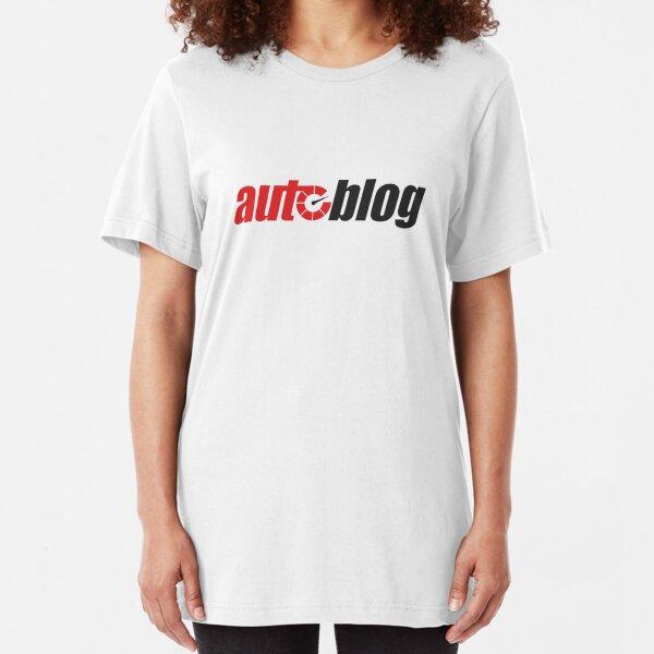 Autoblog Logo Slim Fit T-Shirt