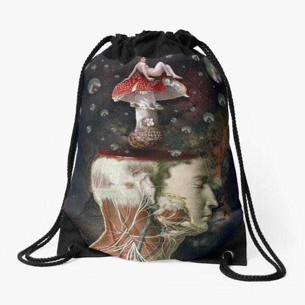 Dreams Are The Touchstones Of Our Character Drawstring Bag
