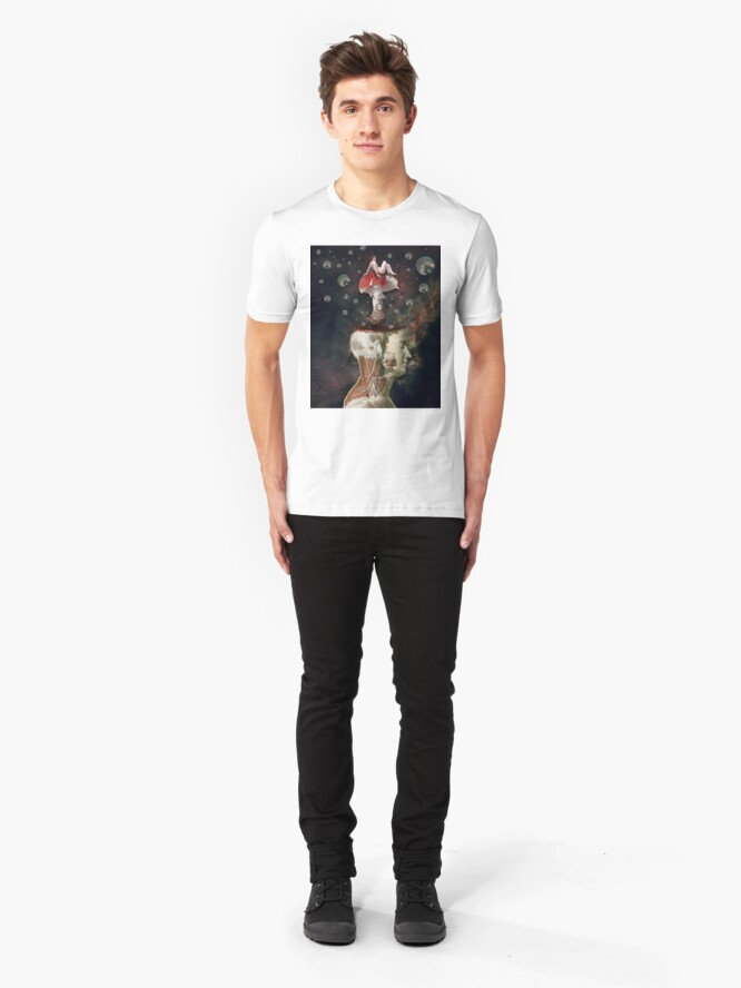 Alternate view of Dreams Are The Touchstones Of Our Character Slim Fit T-Shirt