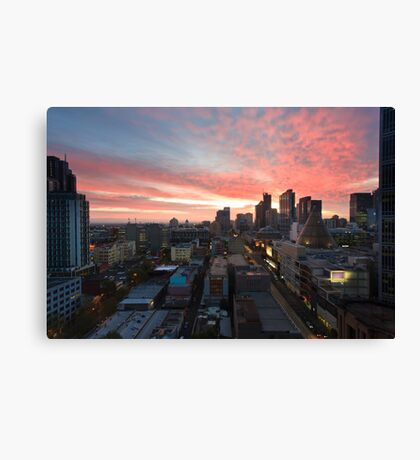 Sunrise on La Trobe Canvas Print