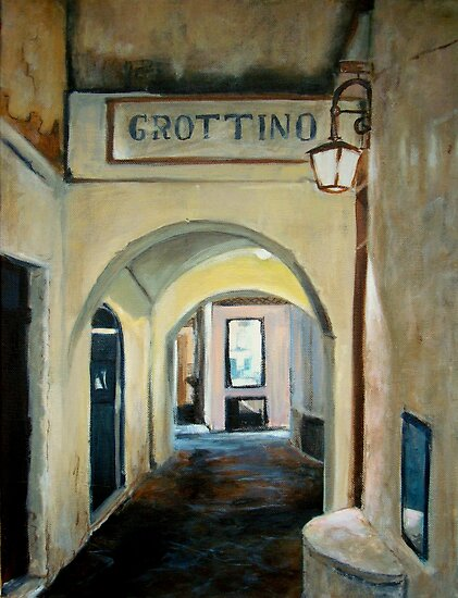 Tonight we go to Grottino's by Carole Russell