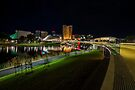 Adelaide Riverbank at Night III by Raymond Warren