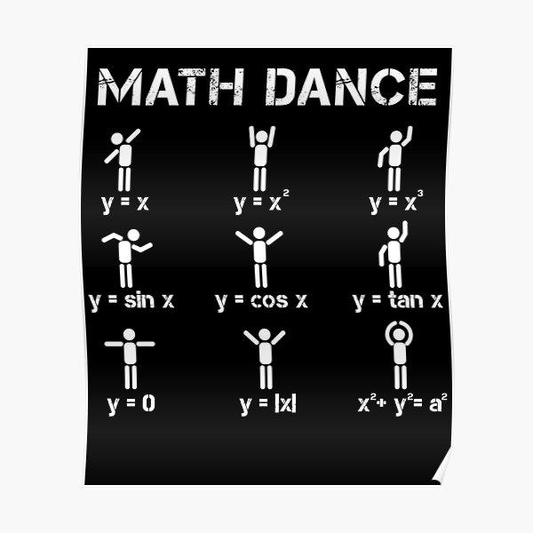 Math dance function Poster