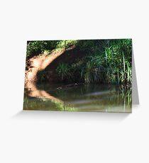 omnivore  river !! Greeting Card