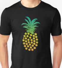 Pineapple Fruit  Athlete Sports Tropical Sweet Fruit Pineapples for Sports Players Slim Fit T-Shirt