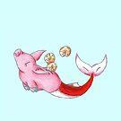 Sparschwein des Meeres von KOKeefeArt