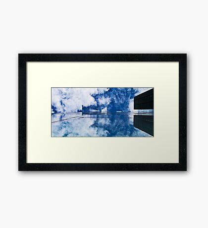 Glide! Framed Print
