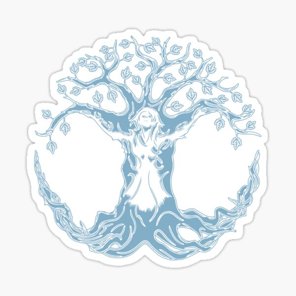 Supporting Nature Sticker