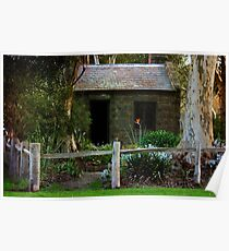 Cottage Quaint Poster