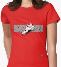 8-bit basketball shoe 4 T-shirt Women's Fitted T-Shirt