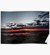Sunset In Hardanger Poster