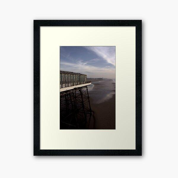 Three piers Framed Art Print
