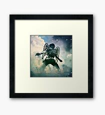 And I heard as it where the noise of thunder  Framed Print