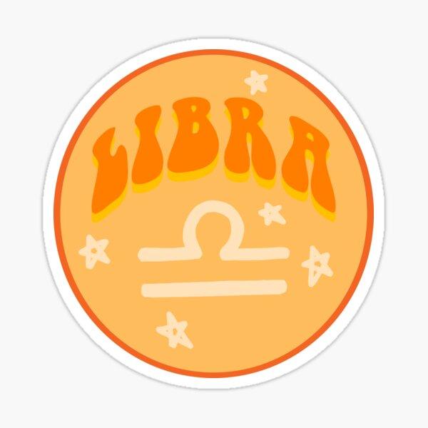 Libra- Star Sign Sticker Sticker